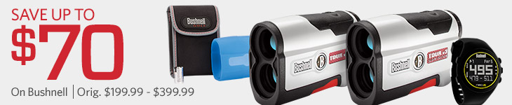 Save up to $70 on Bushnell
